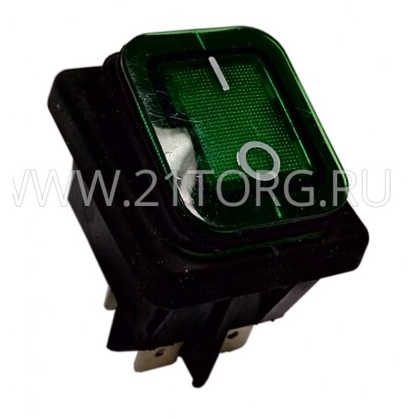Переключатель 3INB4MASK48N1E21 зеленый